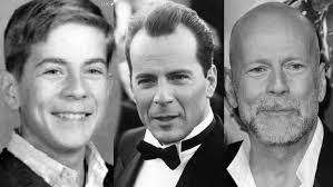 Bruce Willis black and white