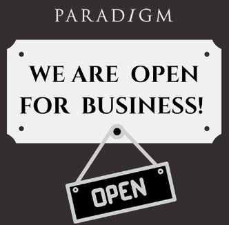Paradigm Clinic Are Open